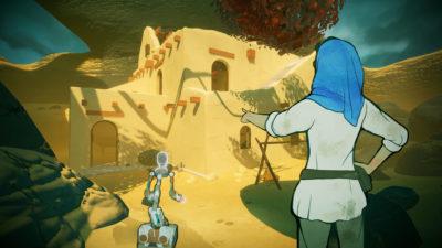 Spillet har en spennende grafikkstil, med 2D-figurer i dynamiske, tredimensjonale miljøer.