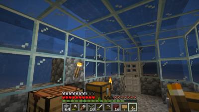 Undersjøisk base måtte jeg ha. Plassert over et episk hulesystem