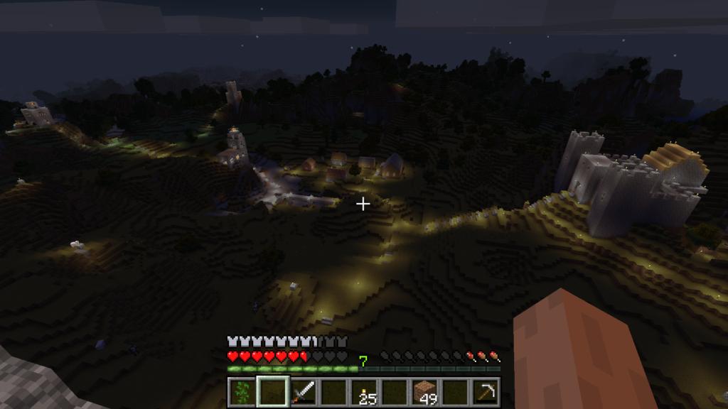 Det kan være veldig tilfredsstillende å se utover landskapet om natten.