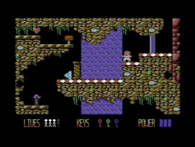 Jamesons forrige Commodore 64-utgivelse, Doc Cosmos.