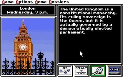 London i PC-versjonen.