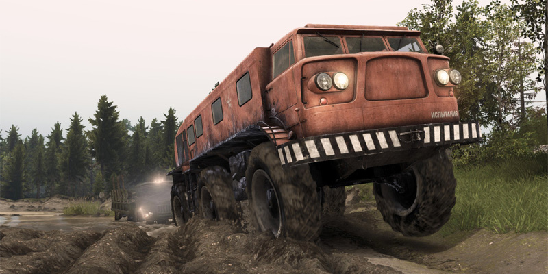 spintires canyon
