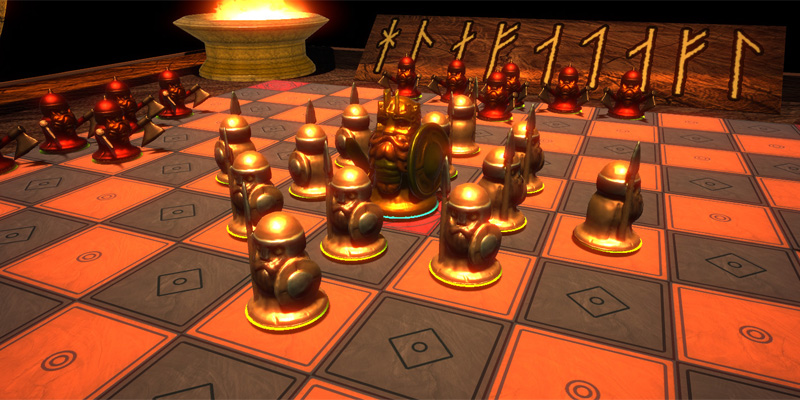 viking chess: hnefatafl