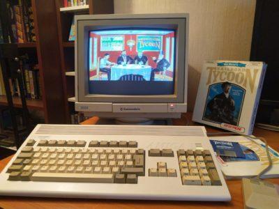 Railroad Tycoon på Amiga. Bilde: Tomas Kristiansen.
