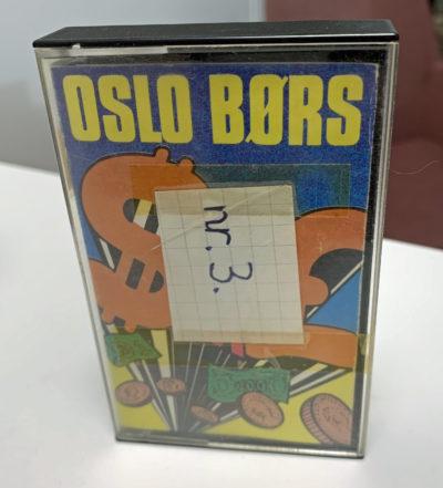 Dette eksemplaret av spillet ble funnet av Einar Vestheim, som også har tatt bildet.