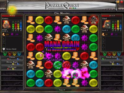 Puzzle Quest er også et Warlords-spill.
