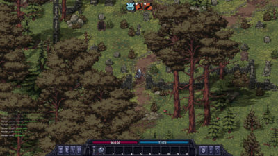 Forlatte gravplasser er et vanlig syn i skog og mark (i spill).