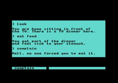 Labyrinth starter som et teksteventyr.