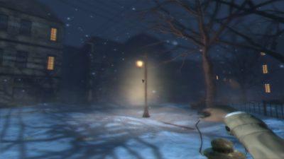 Det er mørkt både ute og inne i dette spillet.
