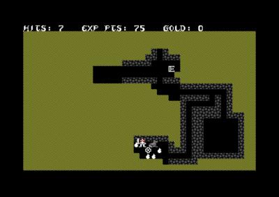 Her har jeg funnet massevis av gullsekker, pluss et tempel og, uheldigvis, et monster.