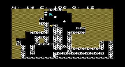 VIC-20-versjonen av Sword of Fargoal har enklere grafikk og mindre hulesystemer.
